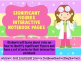 Significant Figures Science Interactive Notebook Pages