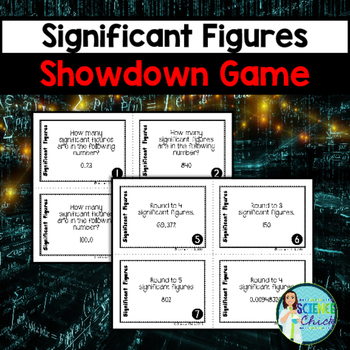 Significant Figures Showdown Game