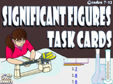 Significant Figures Task Cards
