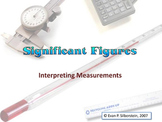 Significant Figures (Tracking Placeholders)