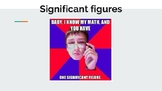 Significant Figures mini-lecture