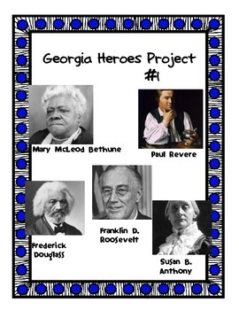 Significant People in U.S. History Project #1