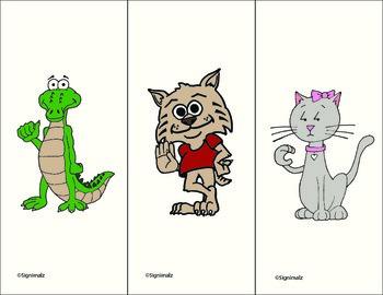Signimalz Sign Language Alphabet Flash Cards