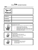Signing Naturally 7:4 Notes/ Workbook Worksheet