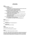 Signing Naturally Unit 1 Study Guide