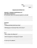 Signing Naturally Unit 2 Workbook Packet