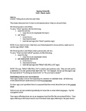 Signing Naturally Unit 5 Study Guide