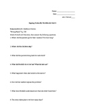 Signing Naturally Unit 6 (Homework 6.13-6.16 only)