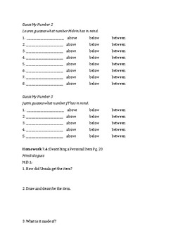 Signing Naturally Unit 7 Workbook Packet
