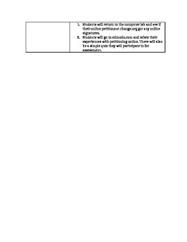 Signing Petitions Lesson Plan