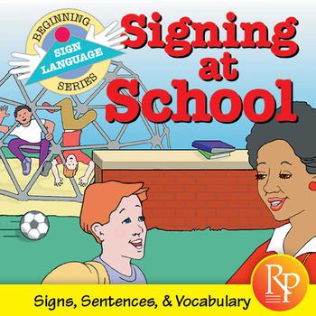 Books Sign Language:Signing At School Instruction
