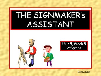 The Signmaker's Assistant, 2nd Grade, PowerPoint