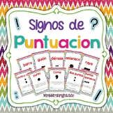 Signos de Puntuacion / Punctuation Posters in Spanish *Bilingual*