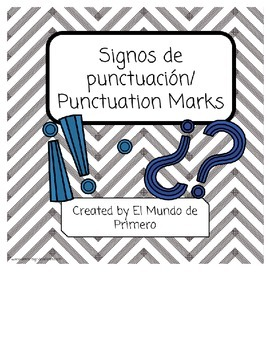 Signos de punctuación (Spanish Only)