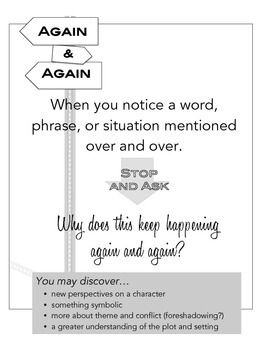 Notice & Note Signpost Posters