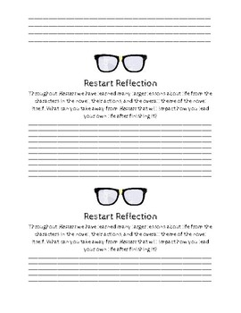 Signposts and Reflections for Restart