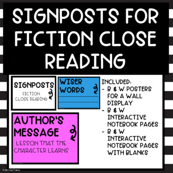 Signposts for Close Reading