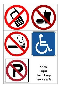 Signs Around Us cards