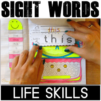 Functional Sight Words, Life Skills series: Signs Around You