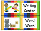 Signs For Your Centers- Striped Background