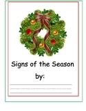 Signs Of the Season Christmas Printing Book