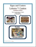 Signs and Centers/Letreros y Centros