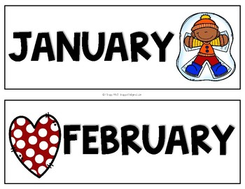 Signs by the Month