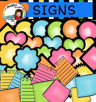 Signs clip art