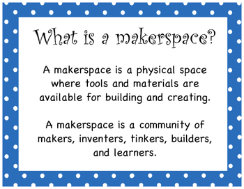 Signs for your Makerspace