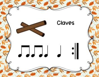 Signs of Autumn - Folk Song with Orff Accompaniment