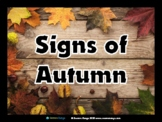 Signs of Autumn Photo Pack