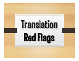 Signs of Computer Translation