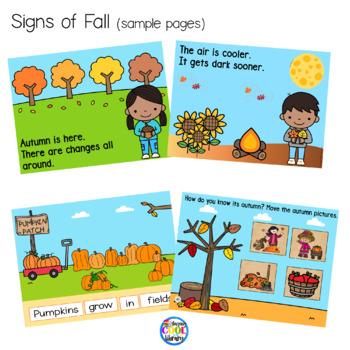 Signs of Fall Mini Books