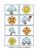 FREE Signs of Spring Matching Tasks