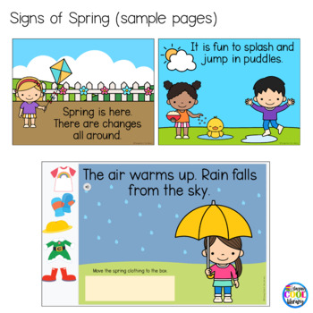 Signs of Spring Mini Books