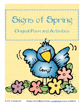 Signs of Spring: Original Poem with Skill Activities