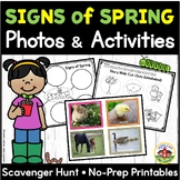 Signs of Spring Photos and Activities