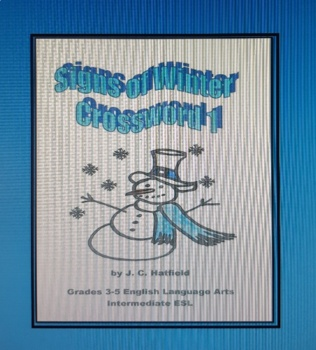 Signs of Winter Crossword 1