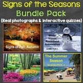 Signs of the Four Seasons Bundle Pack (Winter, Summer, Spring, Fall)