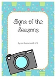 Signs of the Seasons