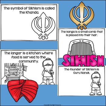Sikhism Mini Book for Early Readers: World Religions