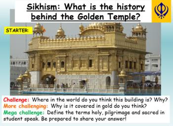 Sikhism - The Golden Temple, Amritsar