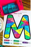 Sílaba Coloring Pages (M,L,P,S) FREEBIE