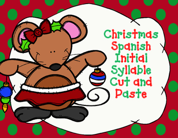 Silaba Inicial: Las Silabas Iniciales de Navidad