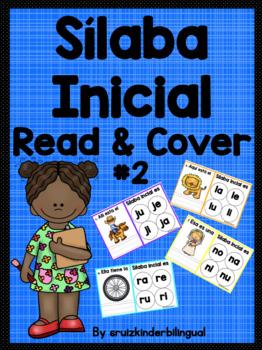 Sílaba Inicial Read & Cover #2