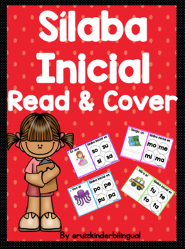 Sílaba Inicial Read & Cover ~Kindergarten~