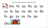 Silabas Practice (Spanish Syllable practice)