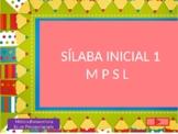 Sílaba inicial M P S L