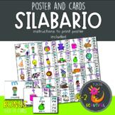 Spanish Syllables - Silabario and Word Wall Headers