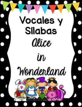 Sílabas - Alice in Wonderland